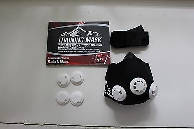 Elevation Training Mask 2.0 with Interchangeable American Flag Mask