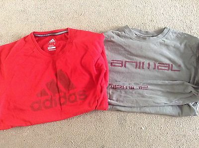 2 X Men's Branded t Shirts (small)