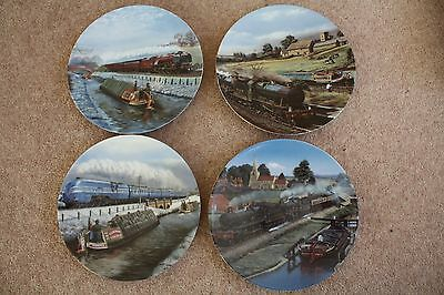 DAVENPORT, Memories in Motion Collection - Complete Set of Four Plates