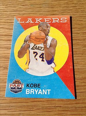 Kobe Bryant Panini NBA basketball trading card