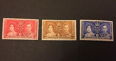 Bechuanaland Protectorate1937 Coronation LHM