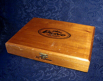 Vintage *bravo*  Retail Cigar Box Hand Made In Dominican Republic