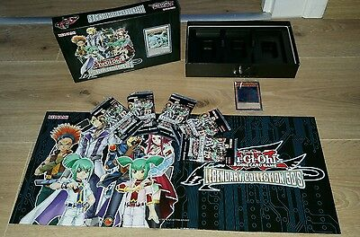 YU-GI-OH Legendary Collection 5D's 5 Booster + Holos + Spielbrett