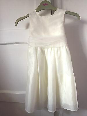 NEXT Christening DRESS BABY 12 - 18 months AGE 1 year PARTY WEDDING SUMMER White