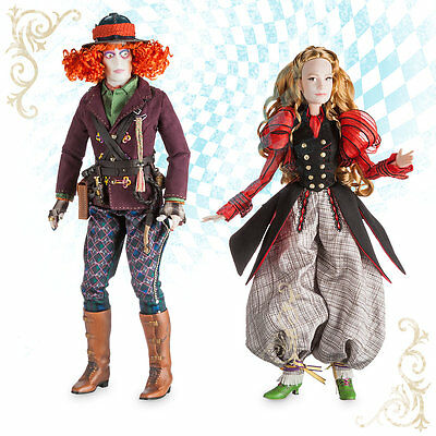 ALICE and the MAD HATTER Deluxe Limited Edition Doll Set - Disney