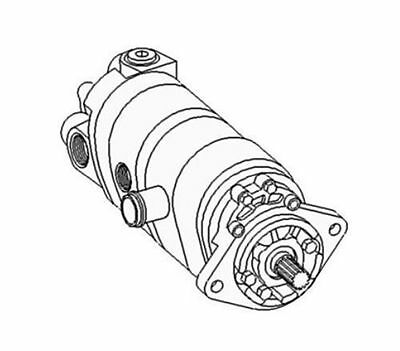 New Hydraulic Pump Made for Case-IH Harvester Tractor Models 2470 2670