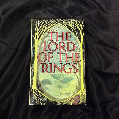 J.R.R .Tolkien, The Lord of the Rings, first 3 in 1 Paperback 1st edition