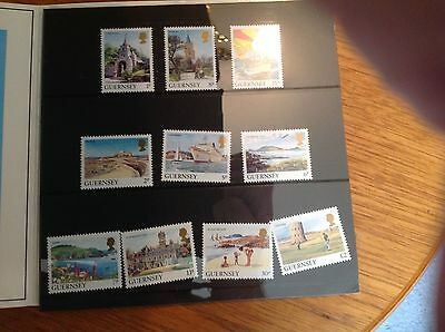 Guernsey post office definitive stamps