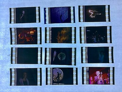 The Crow (1994) #2 Movie 35mm Film Cells Film cell Lot Unmounted horror