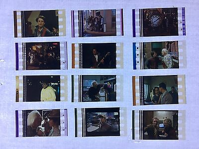 Back To The Future Trilogy 1 2 3 Movie 35mm Film Cells Film cell filmcell