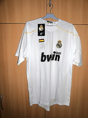 Maillot Real Madrid....blanc...taille M...neuf Avec Etiquette