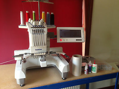 Brother PR600II embroidery machine