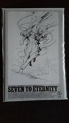 Seven To Eternity #6 Spawn Month B&w Variant - First Print - Image  Comics - Nm