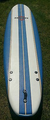 Brand New Delta Surfboard 7Ft 6Inch With Fins Great Solid Quality Board Bargain!