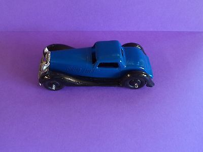 Dinky  Bentley No.36b  Blue and Black  Slotted Chassis