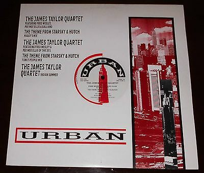"The James Taylor Quartet : The Theme From Starsky & Hutch :1988 Urban 12"" Single"