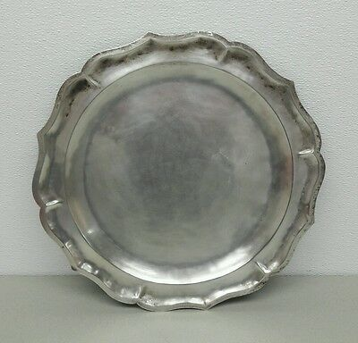 Vintage Maciel Sterling Silver Tray Mexican Silver 1930's