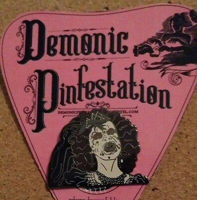 Night Of The Demons Horror Pin