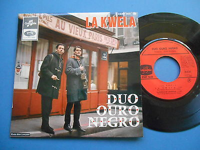 "Duo Ouro Negro La Kwela 7"" Single France Ex *uk P+P 4 For £2*"