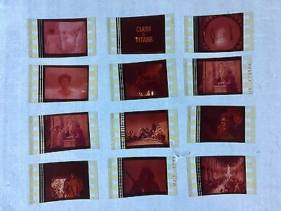 Clash of the Titans (1981) 35mm Film Cells Film cell strip unmounted