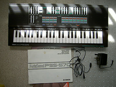 Yamaha PSS-570 electronic keyboard /organ/synthesizer