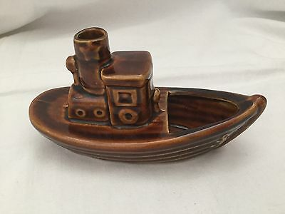 Dartmouth pottery Brown Boat