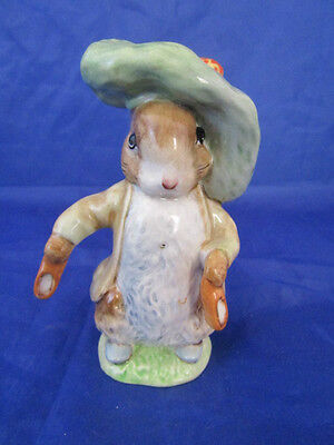 Beswick Beatrix Potter Figure Rare BENJAMIN BUNNY Gold Circle Bp1 issued 1948