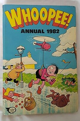 Whoopee! Annual 1982 - Vintage / Retro Children's hardback Annual unclipped