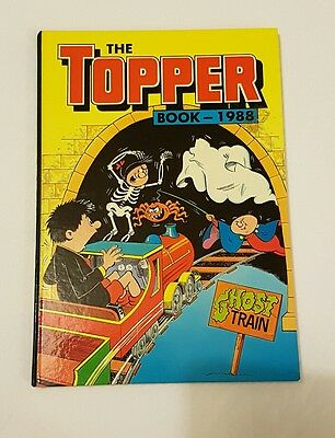 The Topper Book 1988 (Excellent condition) unclipped no name hardback