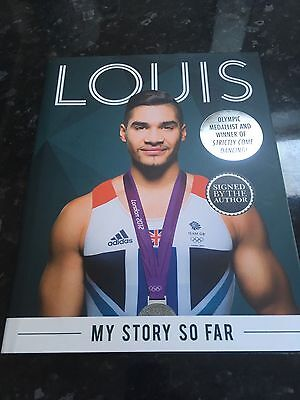 Signed Louis Smith My Story So Far Autobiography Book London 2012 Gymnastics