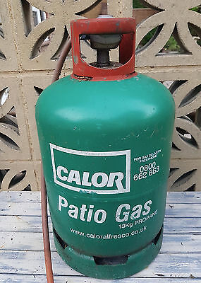 Calor Propane Patio Gas 13 kg cylinder with regulator - (empty).