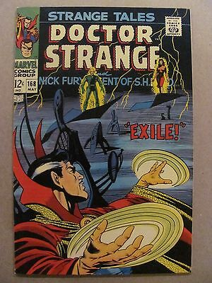 Strange Tales #168 Marvel Last Issue with Nick Fury & Doctor Strange Steranko
