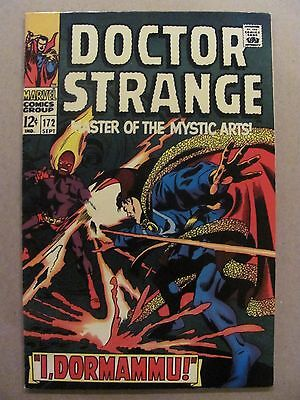 Doctor Strange #172 Marvel Comics 1968 Series 1st Solo Series