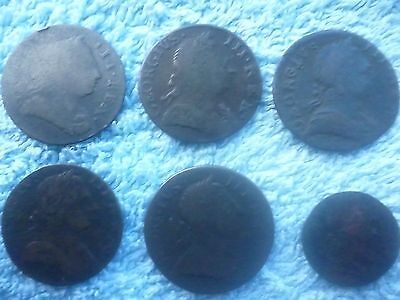 George Iii Halfpennies/farthing Regal/evasions ?