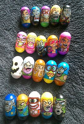 ja-ru 2004 mighty beanz . Mix of 20 beanz inc frank beanatra, ninja,ghost,diva.