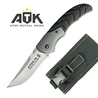 Navaja Tactica Aitor Atk Acero Inox 440 Hoja 8,5 Cm 16407-C Knife Messer Couteau
