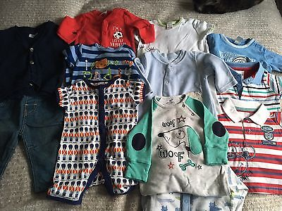 Boys 0-3 Months Bundle Next Mamas And Papas F And F