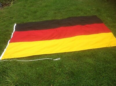 GERMAN FLAG (~ 7.5ft x 4.5ft,  2.3 x 1.4m) Top quality stitched fabric
