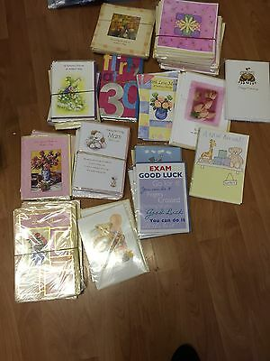 job lot greeting cards 100 assorted