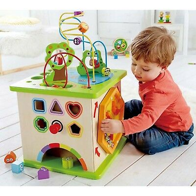 Hape Country Critters Play Cube - MORRISEY EDUCATIONAL