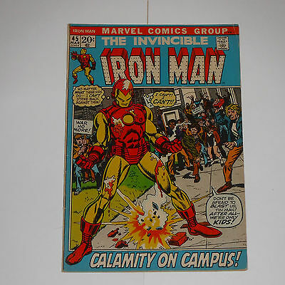 INVINCIBLE IRON MAN No 45  MARVEL COMICS 1972