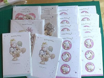 Stock Clearance - 51 Mixed Items, Greeting Cards & Gift Tags - Good Quality