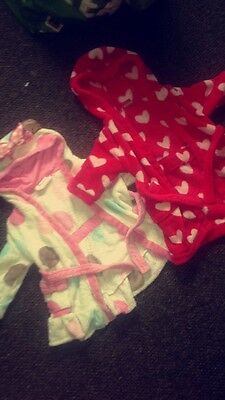 9-12 Month Girls Dressing Gowns