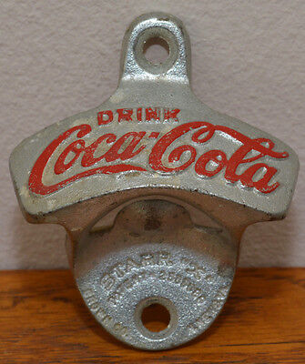 "Antique c1943 Cast Drink COCA COLA STARR ""X"" pat 2333088 Brown Co., W. Germany"