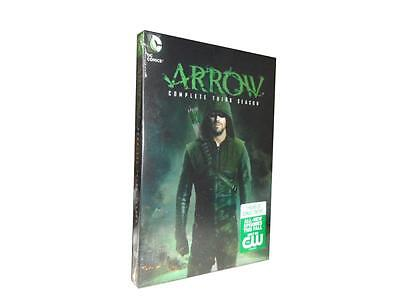 Arrow: The Complete Third Season 3 (DVD, 2015, 5-Disc Set)
