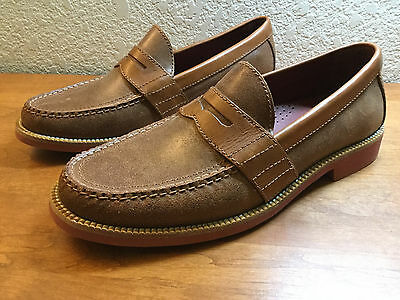 Mens COLE HAAN NIKE AIR Dress Shoes Leather Slip On Loafers 9 M