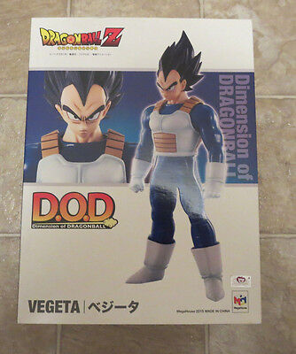 IN USA* NEW AUTHENTIC Dimension of DRAGON BALL DOD Vegeta Megahouse Anime Figure
