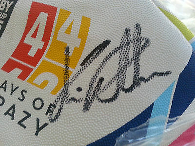 2015 Rugby World Cup - Chris Robshaw signed ball