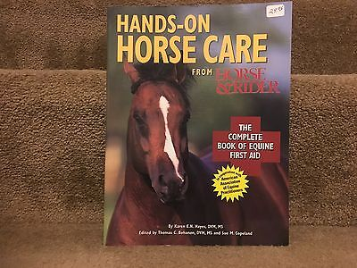 Horse Care Book Bundle, Hands On Horse Care ,Natural Horse Care, Boots& Bandages