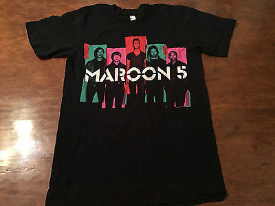 Maroon 5 – 2013 North America Tour Men's Concert T-Shirt – Small